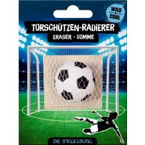 Torschützen-Radierer Fussball Verpackung