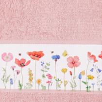 Handtuch Gartenliebe rosa
