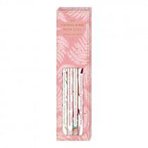 Bleistift Set mit Sprüchen all about rosé