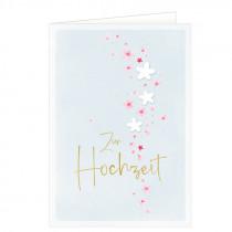 Grusskarte Zur Hochzeit Blütenzauber