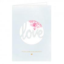 Grusskarte Love