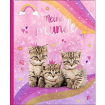 Freundebuch Meine Freunde - Kätzchen