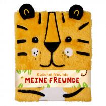Freundebuch Kuschelfreunde - Tiger