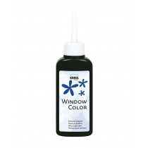 KREUL Window Color Schwarz 80 ml