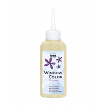 KREUL Window Color Glitzer-Gold 80 ml