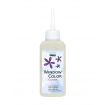 KREUL Window Color Glitzer-Orchidee 80 ml