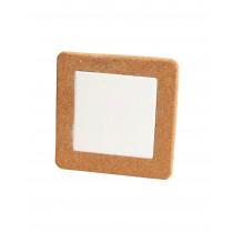 Korkuntersetzer Quadrat, 15 cm