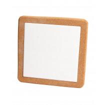 Korkuntersetzer Quadrat, 19 cm