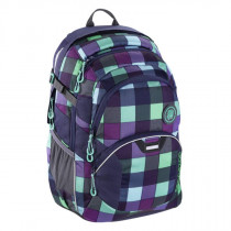 Schulrucksack Jobjobber Green Purple District