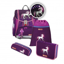 Step by Step Touch 2 Flash Schulthek Set Unicorn 4-teilig