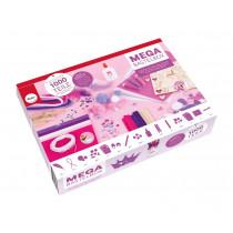 Bastelbox 1000 Teile rosa
