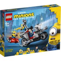 LEGO® Minions Unaufhaltsame Motorrad-Jagd