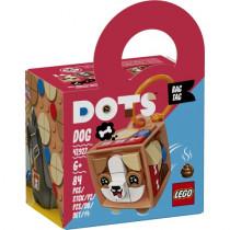 LEGO® DOTS Taschenanhänger Hund