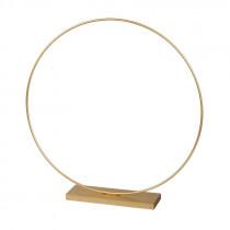 Metallring Aufsteller ø 35 cm Gold