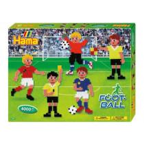 Bügelperlen Fussball