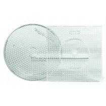 2 Stiftplatten Kreis/Quadrat