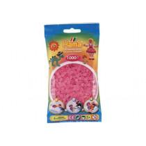 Perlen Transparent Pink