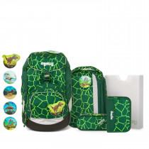 ergobag pack Schulrucksack Set 6tlg. BärRex