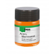 KREUL Acryl Mattfarbe Orange 50 ml