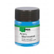 KREUL Acryl Mattfarbe Hellblau 50 ml