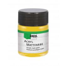 KREUL Acryl Mattfarbe Gold 50 ml