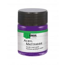 KREUL Acryl Mattfarbe Violett 50 ml