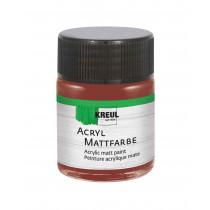 KREUL Acryl Mattfarbe Rehbraun 50 ml