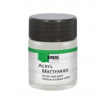KREUL Acryl Mattfarbe Silber 50 ml