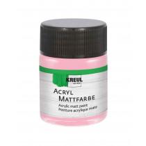 KREUL Acryl Mattfarbe Pastellrosa 50 ml