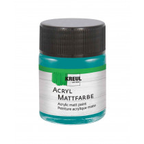 KREUL Acryl Mattfarbe Petrol 50 ml
