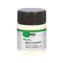 KREUL Acryl Mattfarbe Elfenbein 50 ml