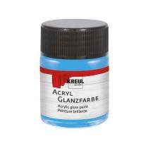 KREUL Acryl Glanzfarbe Himmelblau 50 ml