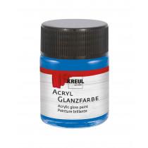 KREUL Acryl Glanzfarbe Blau 50 ml