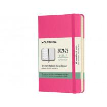 Schüleragenda Hard Cover Weekly Notebook Rosa