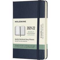 Schüleragenda Hard Cover Weekly Notebook Saphirblau