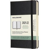 Schüleragenda Hard Cover Weekly Notebook Schwarz