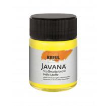KREUL Javana Stoffmalfarbe für helle Stoffe Citron 50 ml