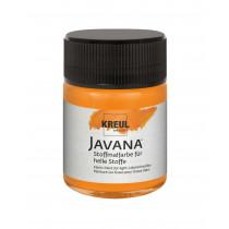 KREUL Javana Stoffmalfarbe für helle Stoffe Orange 50 ml