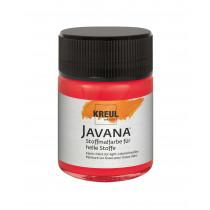 KREUL Javana Stoffmalfarbe für helle Stoffe Hellrot 50 ml