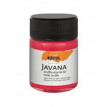 KREUL Javana Stoffmalfarbe für helle Stoffe Karminrot 50 ml