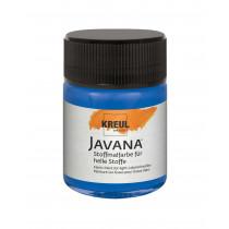 KREUL Javana Stoffmalfarbe für helle Stoffe Royalblau 50 ml