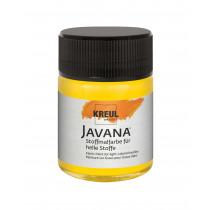 KREUL Javana Stoffmalfarbe für helle Stoffe Goldgelb 50 ml
