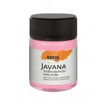 KREUL Javana Stoffmalfarbe für helle Stoffe Leuchtrosa 50 ml