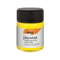 KREUL Javana Stoffmalfarbe für helle Stoffe Leuchtgelb 50 ml