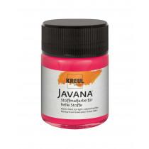 KREUL Javana Stoffmalfarbe für helle Stoffe Leuchtrot 50 ml