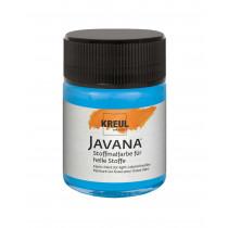 KREUL Javana Stoffmalfarbe für helle Stoffe Azurblau 50 ml
