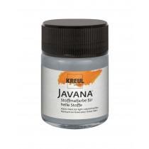 KREUL Javana Stoffmalfarbe für helle Stoffe Grau 50 ml