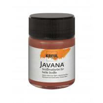 KREUL Javana Stoffmalfarbe für helle Stoffe Rehbraun 50 ml