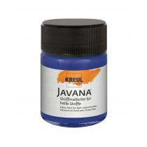 KREUL Javana Stoffmalfarbe für helle Stoffe Dunkelblau 50 ml