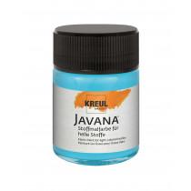 KREUL Javana Stoffmalfarbe für helle Stoffe Türkisblau hell 50 ml